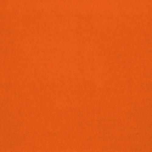 Coton 280 cm uni orange
