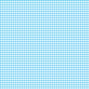 Coton vichy aqua 5 mm