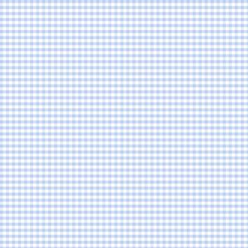 Coton vichy bleu clair 5 mm