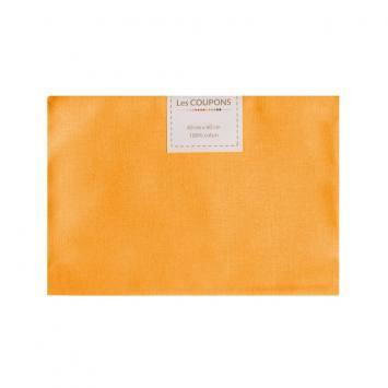 Coupon 40x60 cm coton jaune blé