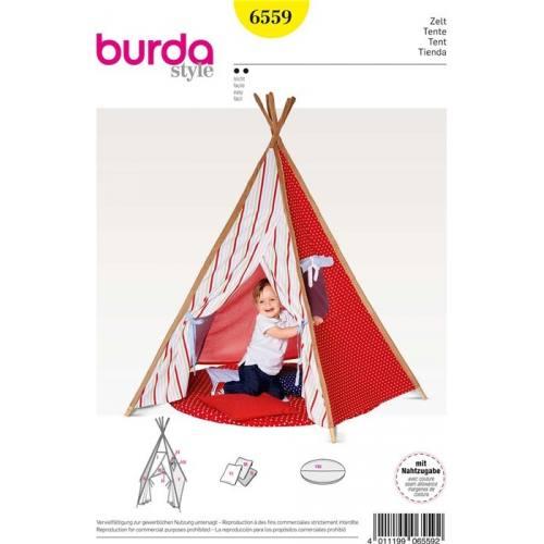 Patron Burda 6559 : Tente