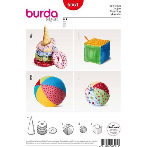 Patron Burda 6561 : Jeux pour enfant