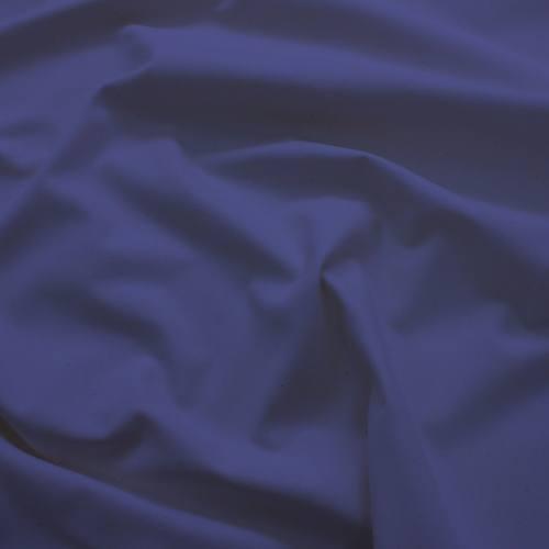 Toile coton ignifugée M1 bleu