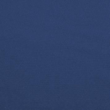 Burlington infroissable grande largeur bleu