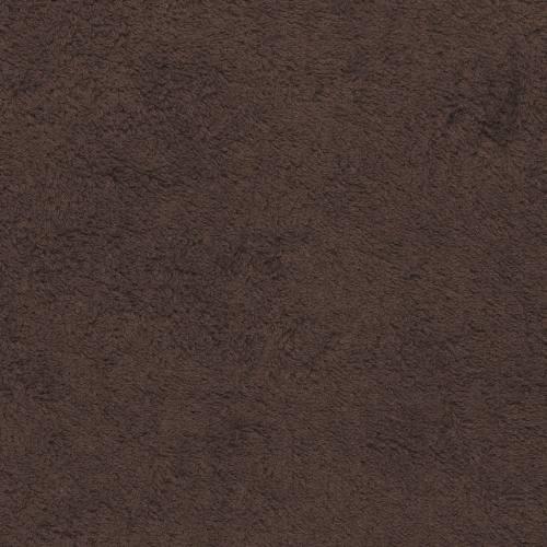 Tissu éponge marron