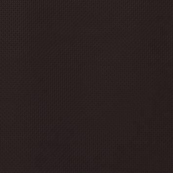 Simili cuir motif carrés incrustés marron