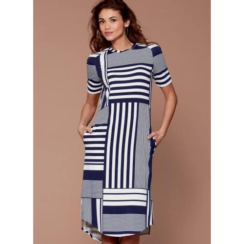 Patron Mc Call's M7574 Hauts, tunique et robe pour jeune femme 42-50
