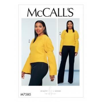 Patron Mc Call's M7580 Haut et pantalon pour jeune femme 42-50