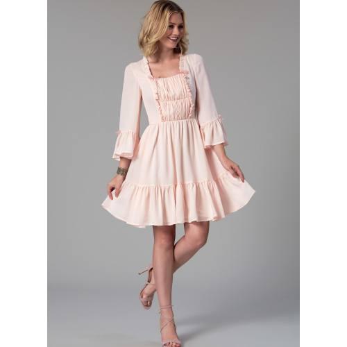 Patron Mc Call's M7500 Robes pour jeune femme 34-42