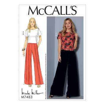 Patron Mc Call's M7483 Haut et pantalon pour jeune femme 34-42