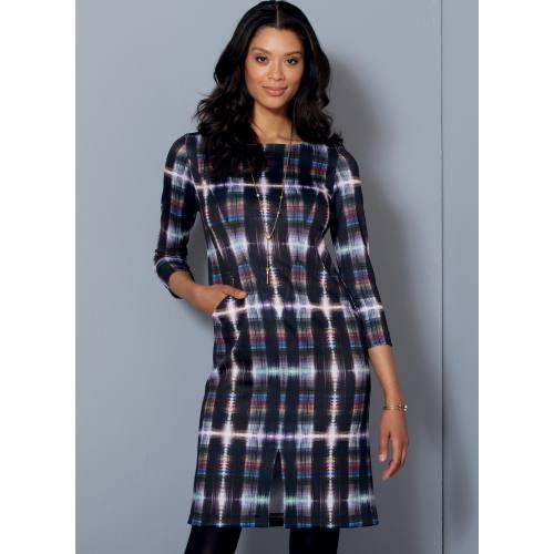 Patron Mc Call's M7469 : Robes pour jeune femme 34-42