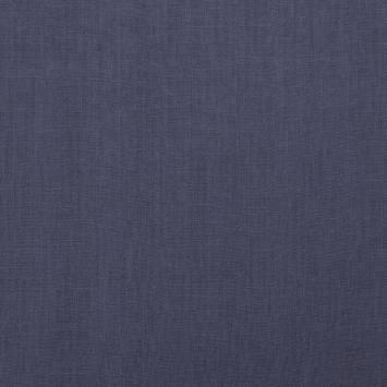Lin lavé bleu jean