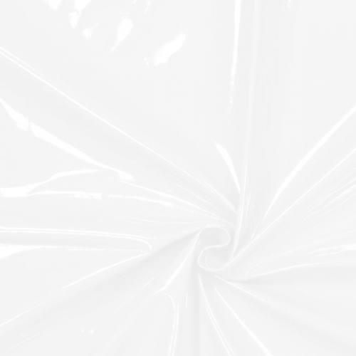 Toile cirée laquée blanche