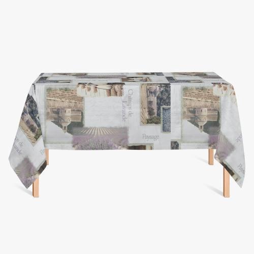 Toile cirée motif Provence
