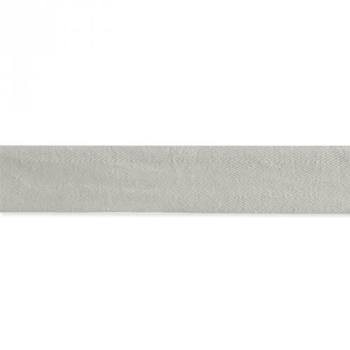 Ruban sergé gris clair 35mm