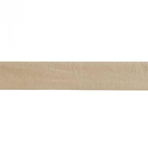 Ruban sergé beige 35mm