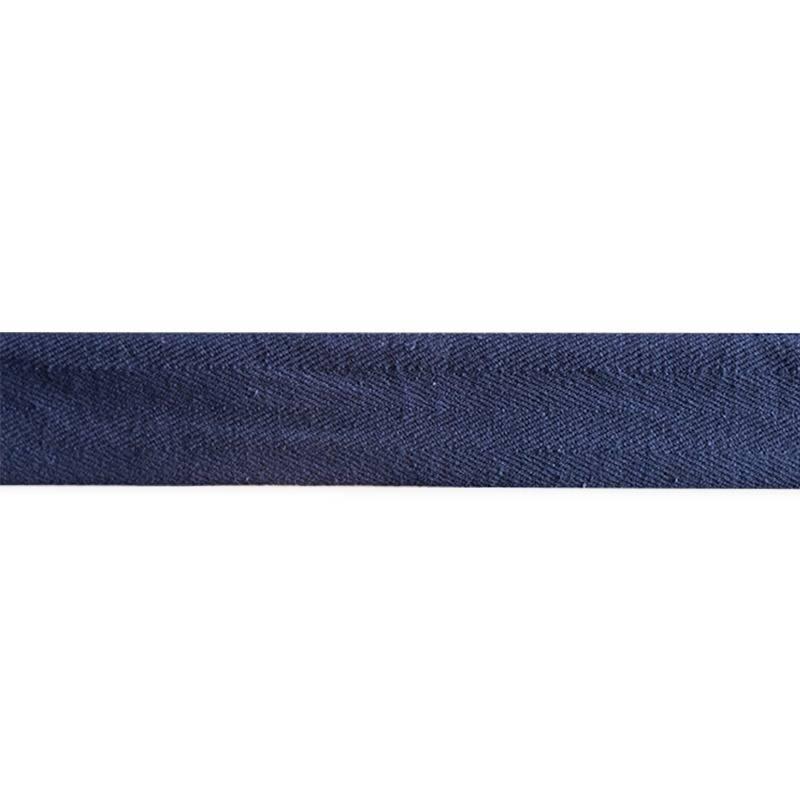 Ruban sergé bleu marine 35mm