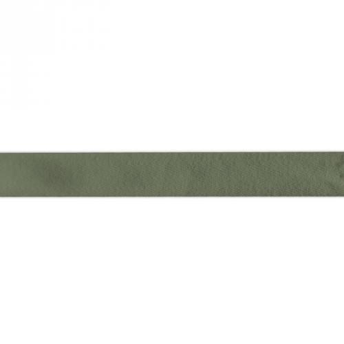 Ruban sergé vert sapin 25mm