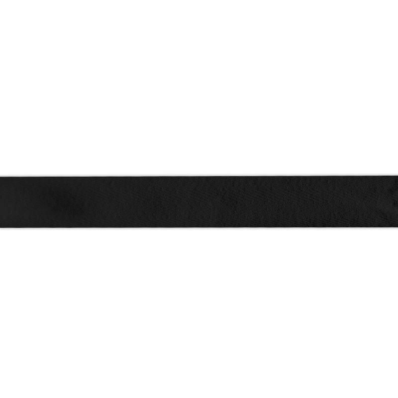 Ruban sergé noir 25mm