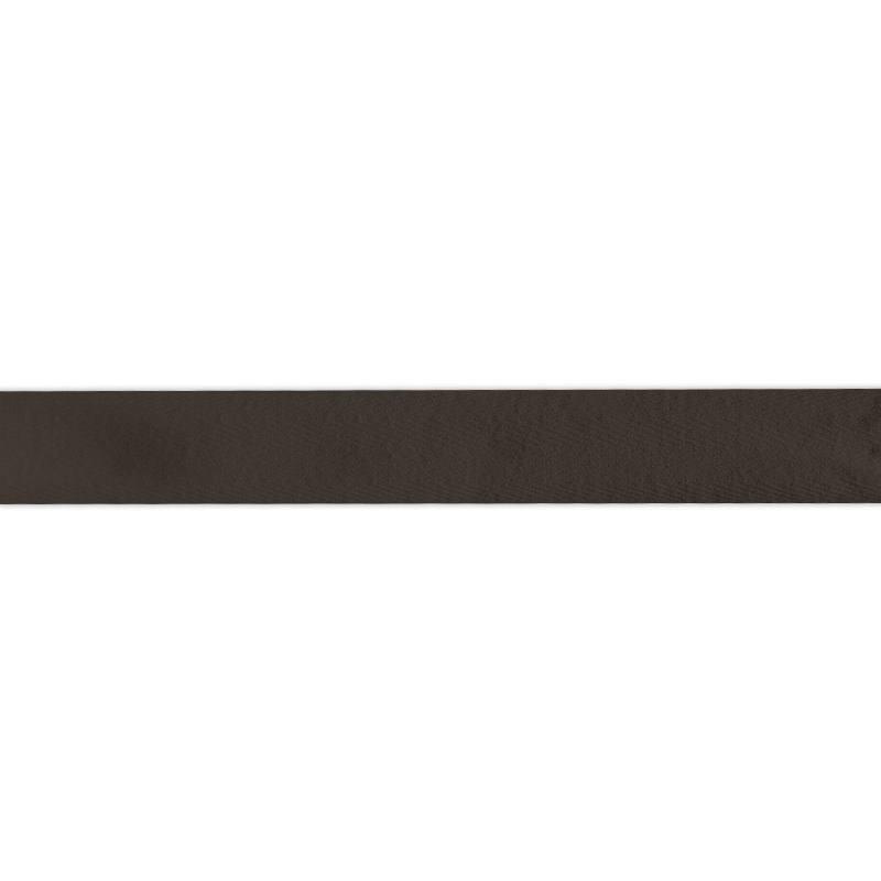 Ruban sergé marron 25mm