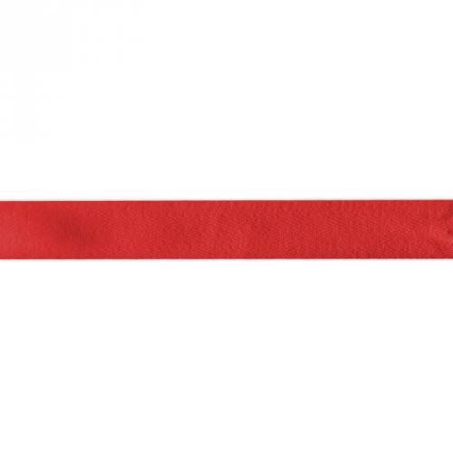 Ruban sergé rouge 25mm