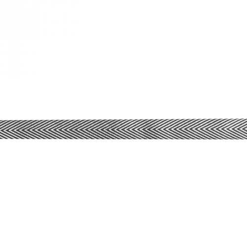 Ruban chevrons noir 18mm