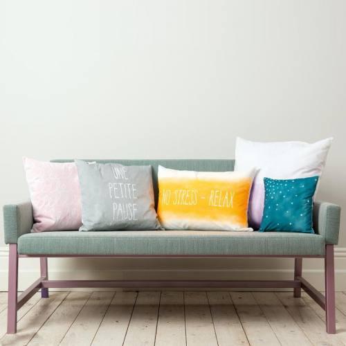 Bombe de peinture textile rose fluo 150ml