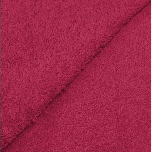 Tissu éponge fuchsia