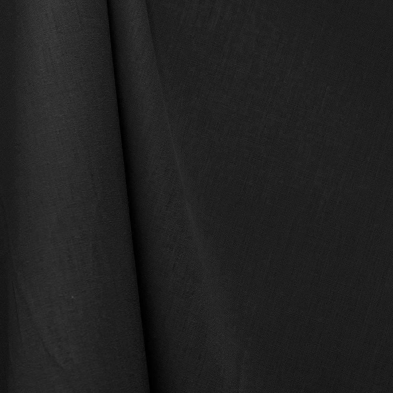 tissu coton noir grande largeur pas cher tissus price