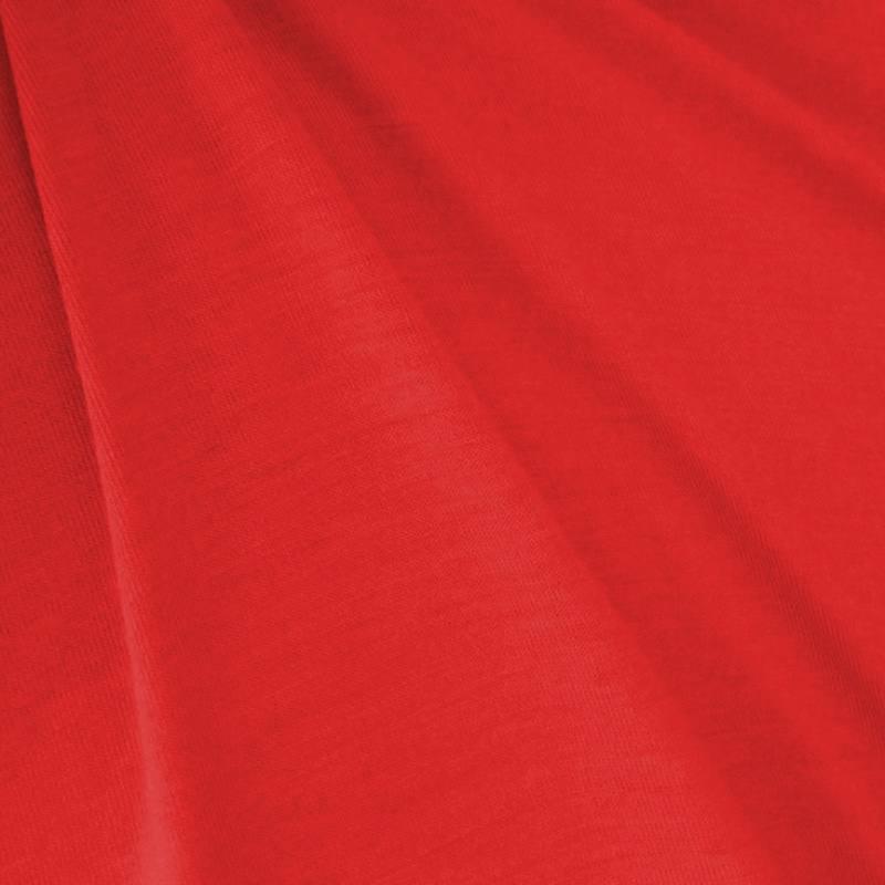 Jersey uni rouge pas cher tissus price - Tissus rouge pas cher ...