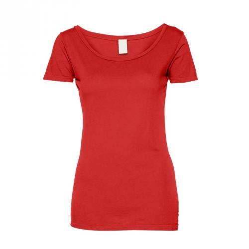 Jersey uni rouge