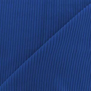 Velours côtelé bleu