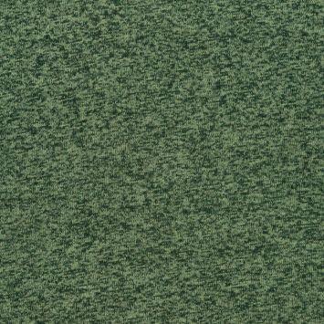 Lainage pour pull chiné vert