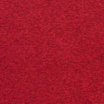 Lainage pour pull chiné rouge