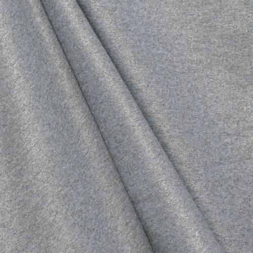 Jersey gris chiné pailleté