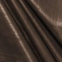 Maille lurex côtelé bronze