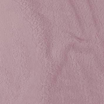 Tissu polaire microfibre rose pastel