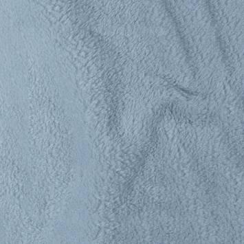 Tissu polaire microfibre bleu ciel
