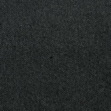 Lainage gris et noir à rayures diagonales