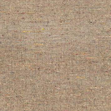 Bourrette de soie multicolore beige