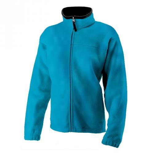 Tissu polaire turquoise 140 cm