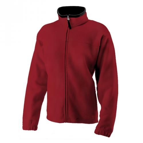Tissu polaire rouge 140 cm