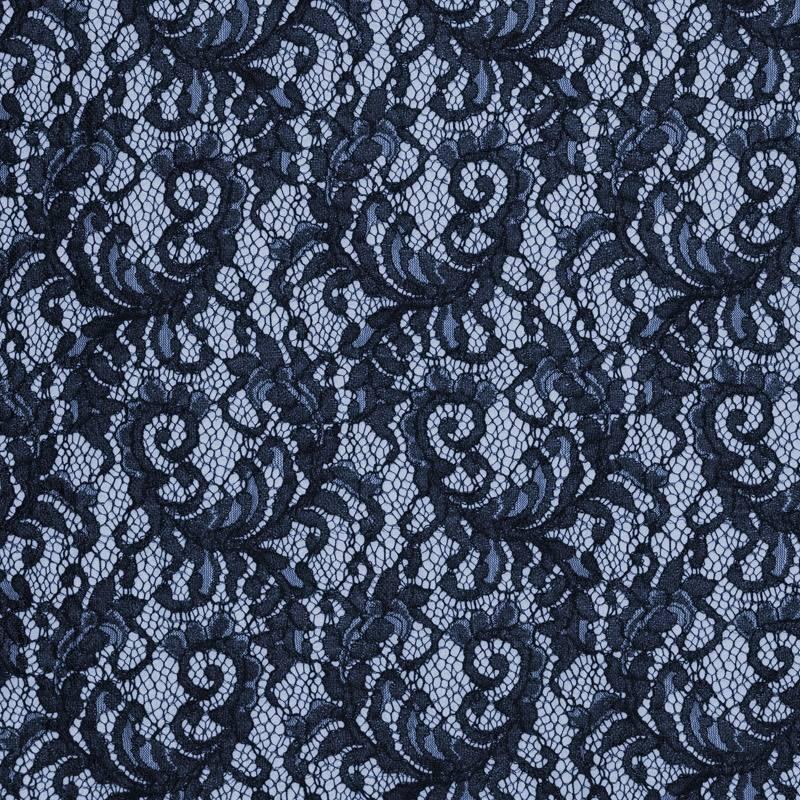 dentelle guipure bleu marine pas cher tissus price. Black Bedroom Furniture Sets. Home Design Ideas