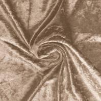 Robe panne de velours doré