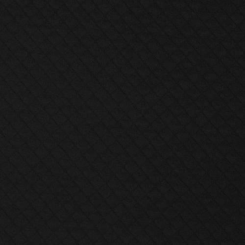 Maille gaufrée extensible noire