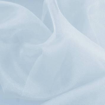 Organza bleu pastel