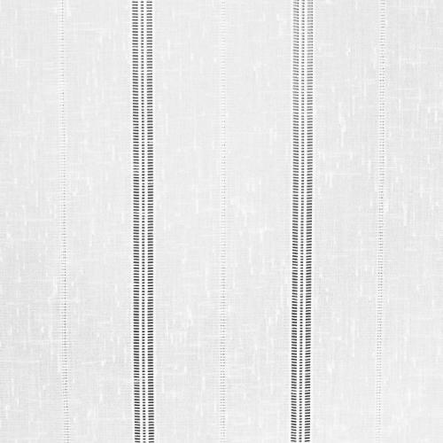 Voilage blanc tissé 45 cm