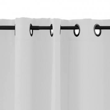 Rideau à oeillets obscurcissant blanc135x250 cm