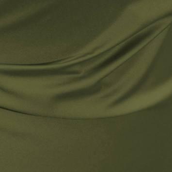 Satin microfibres royal vert olive