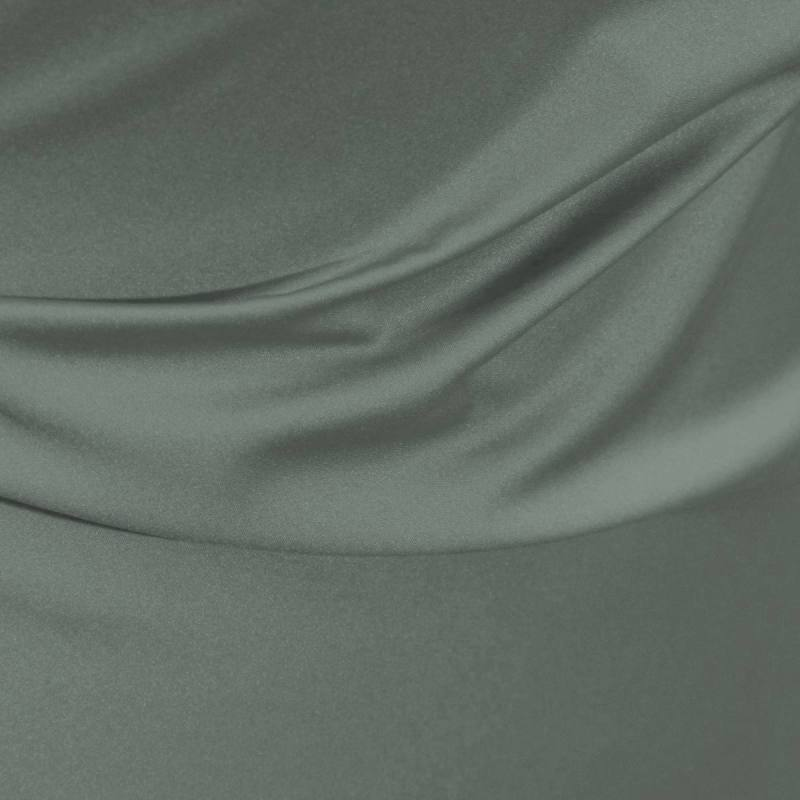 Satin microfibre royal tilleul